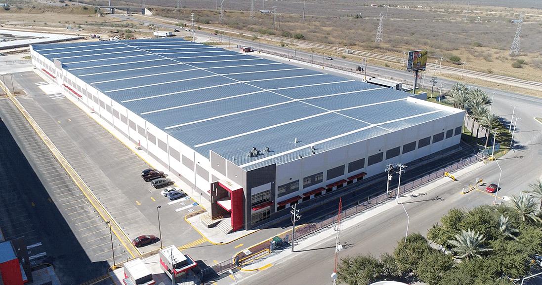 Soluciones Logísticas Cryptex señala que el Parque Industrial Oradel en Nuevo Laredo, Tamaulipas, le permite ubicarse como un estratégico centro de distribución.